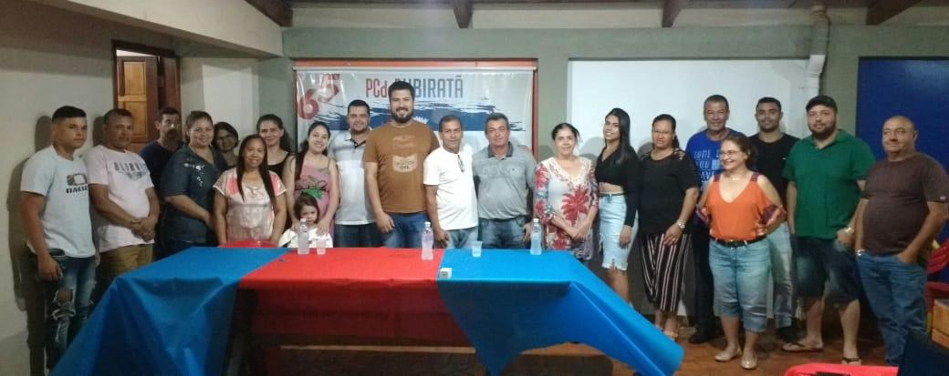 PCdoB de Ubiratã realiza conferência com a presença do presidente estadual da sigla