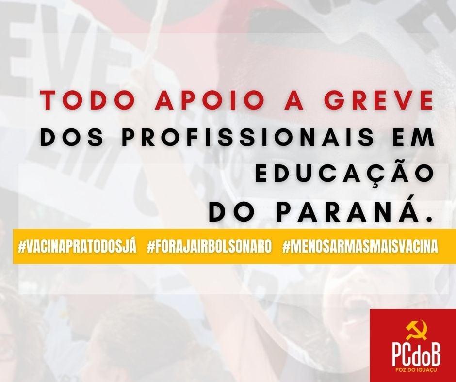 PCdoB de Foz do Iguaçu repudia o retorno das aulas presenciais na cidade
